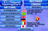 TOCA: World Touring Cars Game Boy Advance Start of your Career