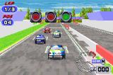 TOCA: World Touring Cars Game Boy Advance On the starting grid