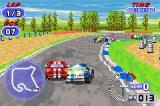 TOCA: World Touring Cars Game Boy Advance Overtaking