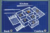Tom and Jerry Tales Game Boy Advance Map of the House