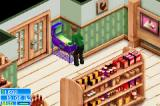 The Sims 2: Pets Game Boy Advance Playing Pinball