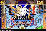 Sonic Pinball Party Game Boy Advance Here comes the ball