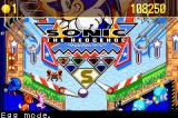 Sonic Pinball Party Game Boy Advance Hitting the ball