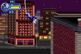 Spider-Man: Mysterio's Menace Game Boy Advance Swinging through the air