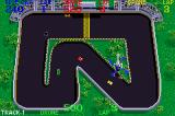 Spy Hunter / Super Sprint Game Boy Advance Super Sprint: Crashed and a new car is delivered