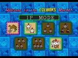Columns III: Revenge of Columns Genesis Select play mode, single or multi player