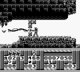 Turrican Game Boy Destroyable wall