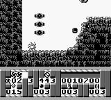 Turrican Game Boy Spiked ball move