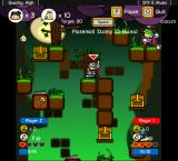 Vertical Drop Heroes Browser Two players can help each other, but they're out to get the most gold.