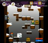 Vertical Drop Heroes Browser A level with an ice theme