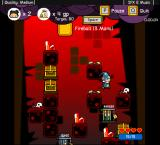 Vertical Drop Heroes Browser A level with a lava theme