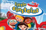 Disney's Little Einsteins Game Boy Advance Title screen.