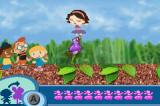 Disney's Little Einsteins Game Boy Advance June is opening the flowers with her dancing.