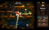 Vertical Drop Heroes HD Windows A lightning attack has been activated at a shrine.