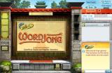 WordJong Browser Title screen.