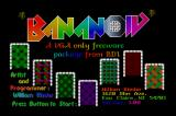 Bananoid DOS Title screen
