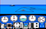 Solo Flight PC Booter CGA Composite mode