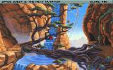 Space Quest V: The Next Mutation DOS Another beautiful scenery on Kiz Urazgubi.