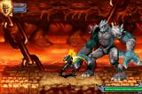 Ghost Rider Game Boy Advance Fighting the first boss enemy