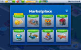 Rollercoaster Tycoon 4 Mobile Android The categories in the marketplace