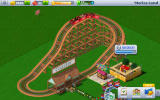 Rollercoaster Tycoon 4 Mobile Android Close-up of a simple coaster