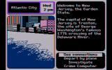 Where in the U.S.A. is Carmen Sandiego? DOS CGA Composite mode