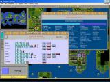 Sid Meier's CivNet Windows 3.x Science and Attitude reports
