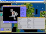 Sid Meier's CivNet Windows 3.x Demographics and Space Ship