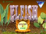 El-Fish FM Towns Title screen