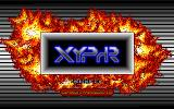 Xyphr DOS The game's title screen