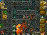 Crazy Chicken: Jewel of Darkness Windows Exploding bottles chain reaction