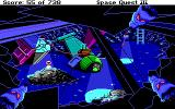 Space Quest III: The Pirates of Pestulon DOS Yuck! Rats are staring at you!..