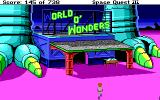Space Quest III: The Pirates of Pestulon DOS In front of the World O' Wonders