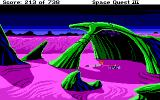 Space Quest III: The Pirates of Pestulon DOS Hmm, what are we doing now, Roger?..