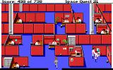 Space Quest III: The Pirates of Pestulon DOS Infiltrating Scum Soft, disguised... as a janitor
