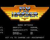 Fly Harder Amiga Game Options
