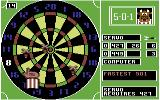 Bully's Sporting Darts Commodore 64 This throw was worth 8 points