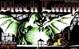 Black Lamp Commodore 64 Loading screen (tape version)