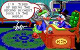 Disney's Duck Tales: The Quest for Gold DOS Introduction - Glomgold challenges Scrooge