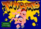 Twin Brats Arcade Title screen