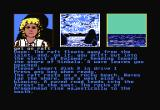 Dragonworld Commodore 64 I haven't finished the game yet, because it IS challenging. The hints are there, but that takes the fun out of a text adventure. Byron Preiss and Micheal Reaves are good authors.