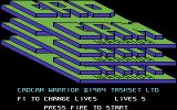Cad Cam Warrior Commodore 64 Title Screen