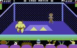 Cage Match Commodore 64 Lets wrestle