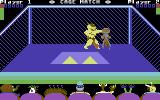 Cage Match Commodore 64 Punch to the head