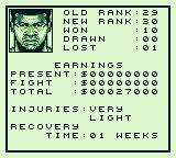 Muhammad Ali Heavyweight Boxing Game Boy Recovery is a must.