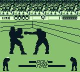 Muhammad Ali Heavyweight Boxing Game Boy I just pressed the start (pause) button.