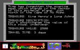 Disney's Duck Tales: The Quest for Gold DOS Description of the treasure, time it takes and how much it's worth