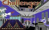 Challenger Commodore 64 Loading Screen