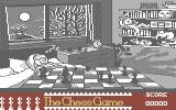 The Chess Game Commodore 64 Title Screen