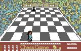 The Chess Game Commodore 64 Get the Pawns across